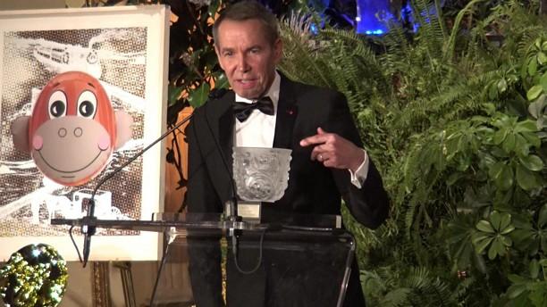 Trophée des Arts Gala Honoree Jeff Koons