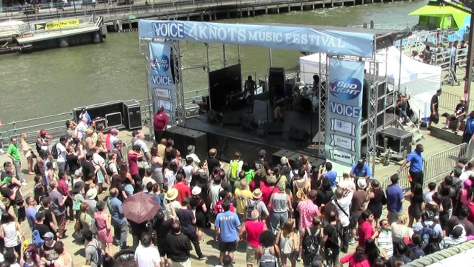 Heliotropes, Fat Tony & Parquet Courts - The Village Voice's 4Knots Music Festival