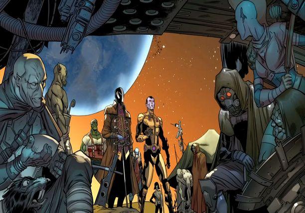 THE BLACK VORTEX - GUARDIANS of the GALAXY & X-MEN