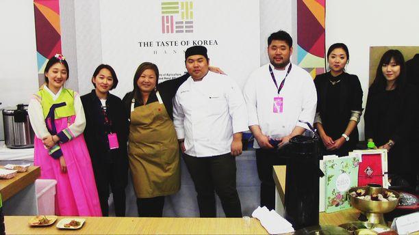 Chef Debbie Lee - The Taste of Korea 2015