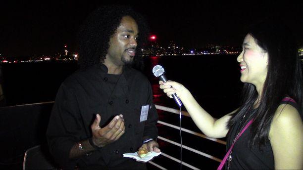 U.S. Virgin Islands Boat Ride Reception - Chef Ralph Motta