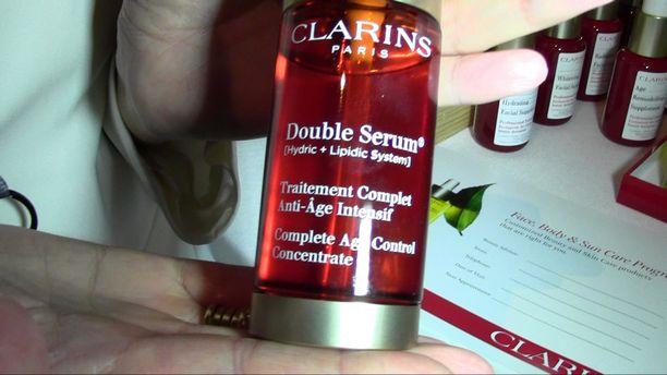 ISPA Media Event - Clarins Spa Demo 2015
