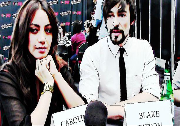 Carolina Guerra and Blake Ritson - Anime STARZ Da Vinci's Demons