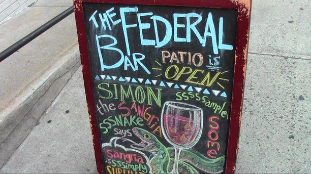 Executive Chef Brendon Doyle - The Federal Bar 2015