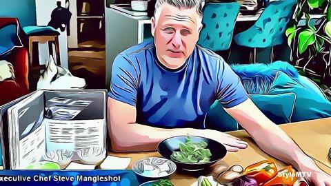"wagamama ""wok from home"" Spanish  Art Version"